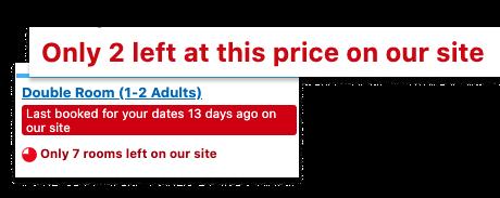 personalised alerts Booking.com
